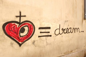 Heart and dream (Arles)