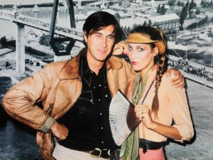Brian Ferry, Jerry Hall