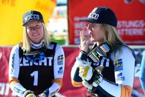 Sandra Naeslund (li) und Lisa Andersson