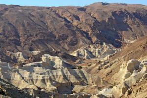 Landschaft beim Toten Meer